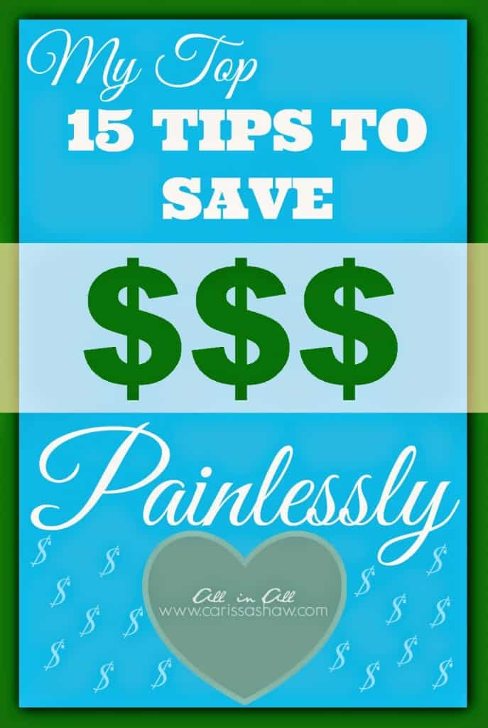 15-tips-to-save-money-painlessly