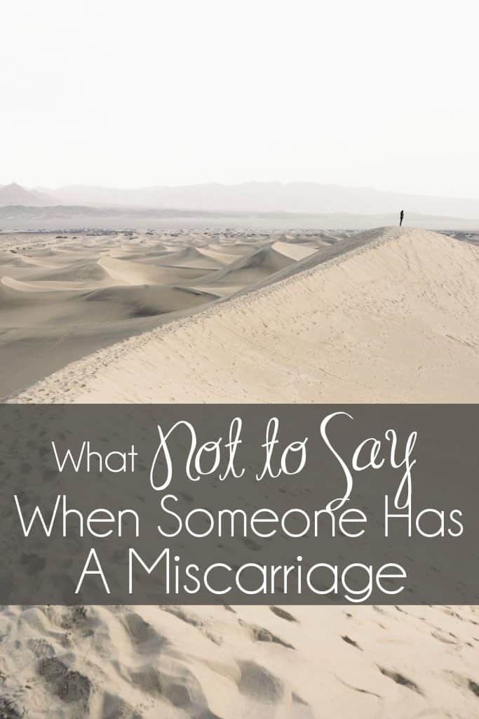 What Not to Say When Someone Has a Miscarriage