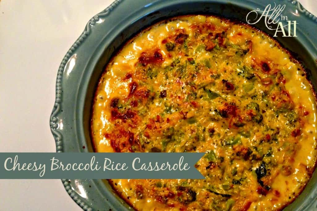Cheesy Broccoli Rice Casserole This Comforting Dish Will Be The Hit Of The Dinner Table