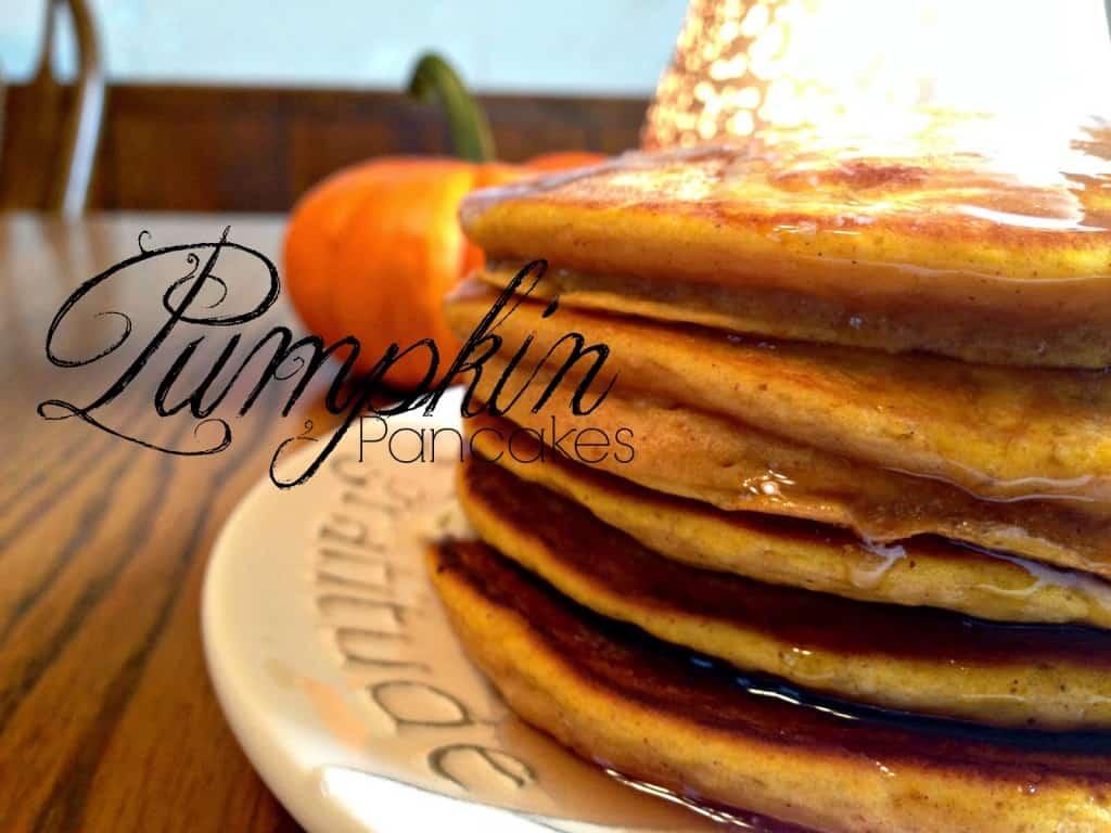 Perfectly simple pumpkin pancake recipe