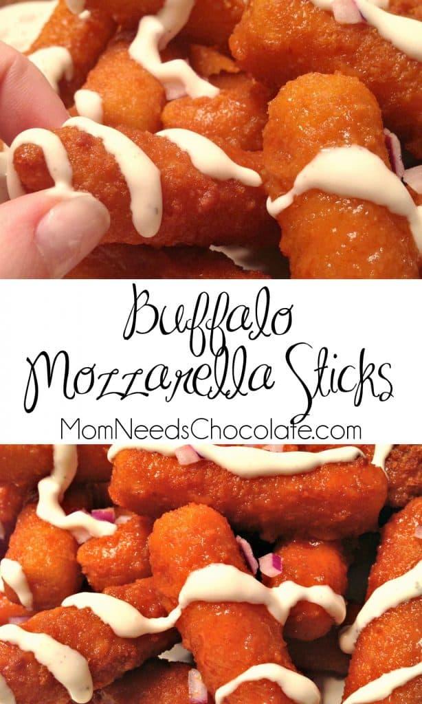 Buffalo Mozzarella Sticks