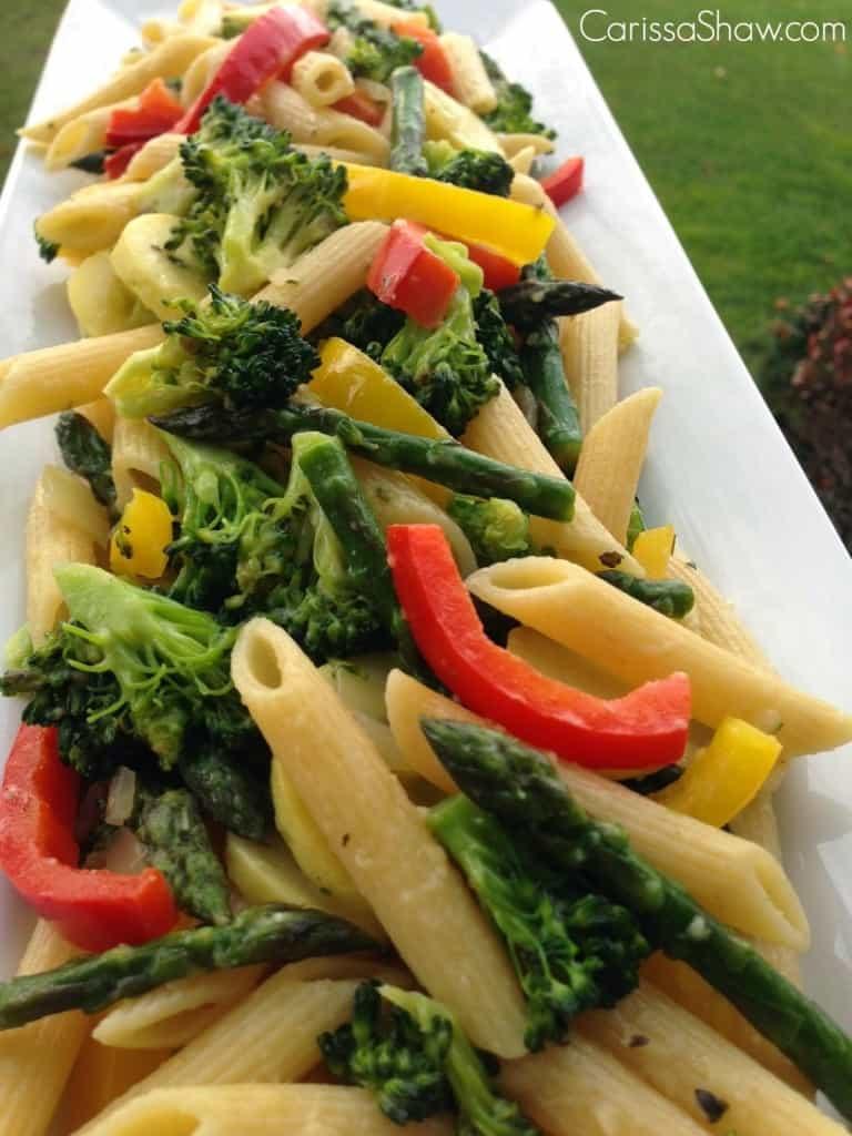 Buttery Pasta Primavera