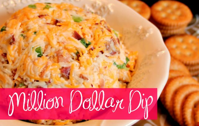 Million Dollar Dip - Bacon Cheese Ball
