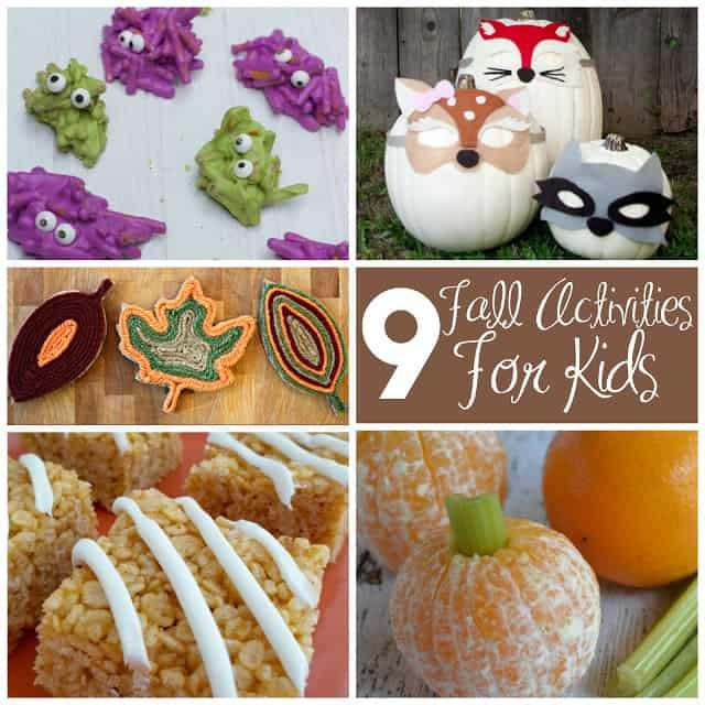 9 Fun Fall Themed Activities for Kids