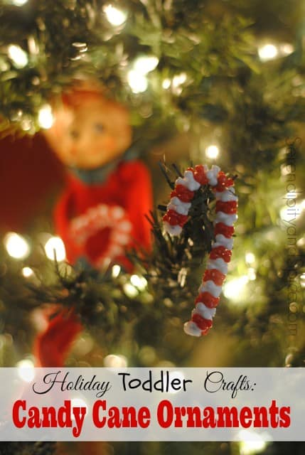 http://serendipityandspice.com/holiday-toddler-crafts-candy-cane-ornaments/