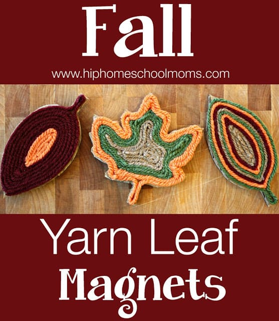 http://www.myjoyfilledlife.com/2014/10/24/fall-yarn-leaf-magnets/