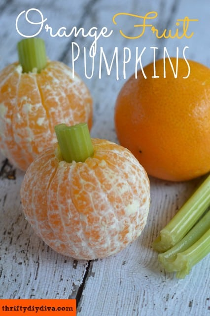 http://thriftydiydiva.com/healthy-halloween-snacks-orange-fruit-pumpkins/