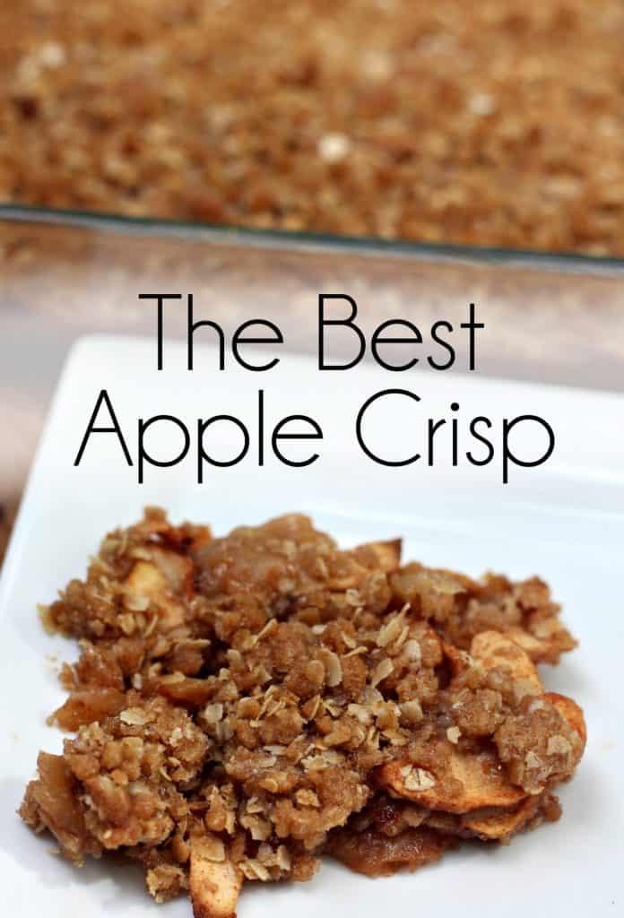 The Best Apple Crisp I've Ever Eaten | Easy Apple Crisp | Double Crust Apple Crisp | Apple Picking | Homemade Apple Crisp | Cinnamon Apple Crisp #AppleCrisp #BestAppleCrisp #EasyAppleCrisp