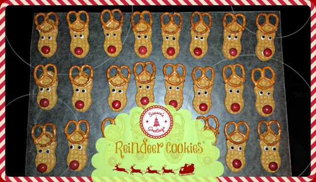http://www.thriftynorthwestmom.com/christmas-cookie-recipes-reindeer-cookies/