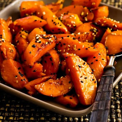 http://www.kalynskitchen.com/2009/11/recipe-for-soy-glazed-sweet-potatoes.html