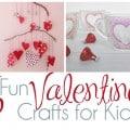 16 Fun Valentine's Crafts for Kids Header