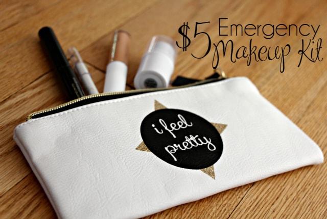 Five Dollar Emergency Makeup Kit