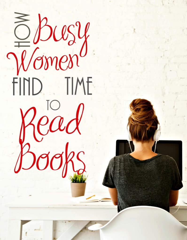 How Busy Women Find Time To Read Books