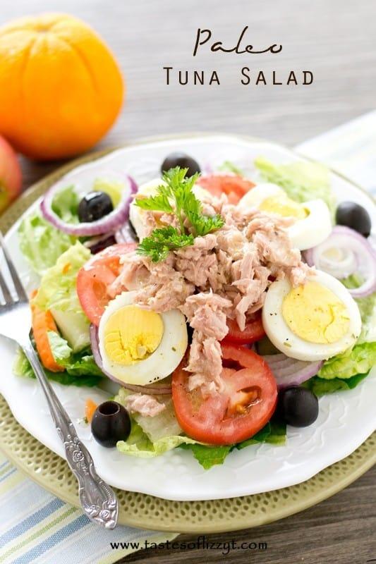 23 delicious paleo recipes all in all for Tuna fish salad calories