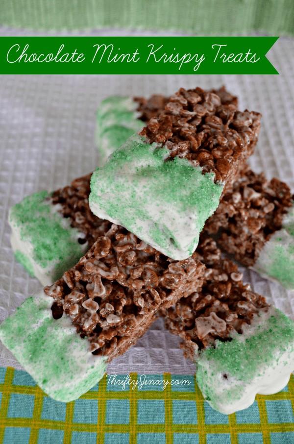 Chocolate-Mint-Krispy-Treats