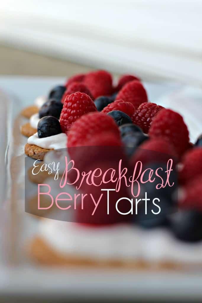 Easy Breakfast Berry Tarts