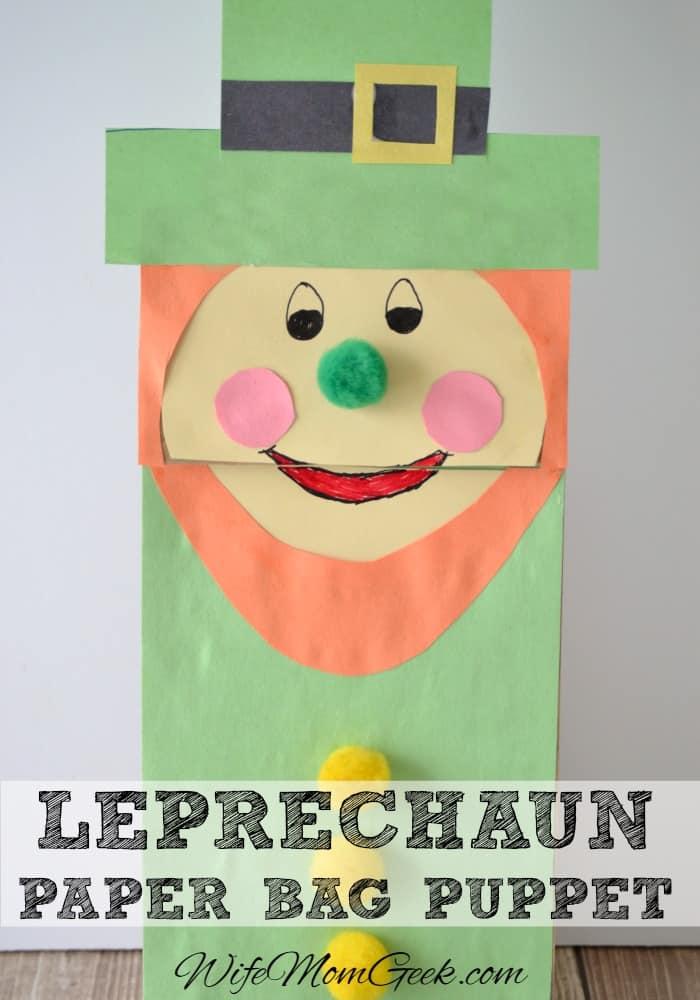 Leprechaun-Paper-Bag-Puppet