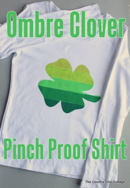 Ombre Clover Pinch Proof Shirt-006