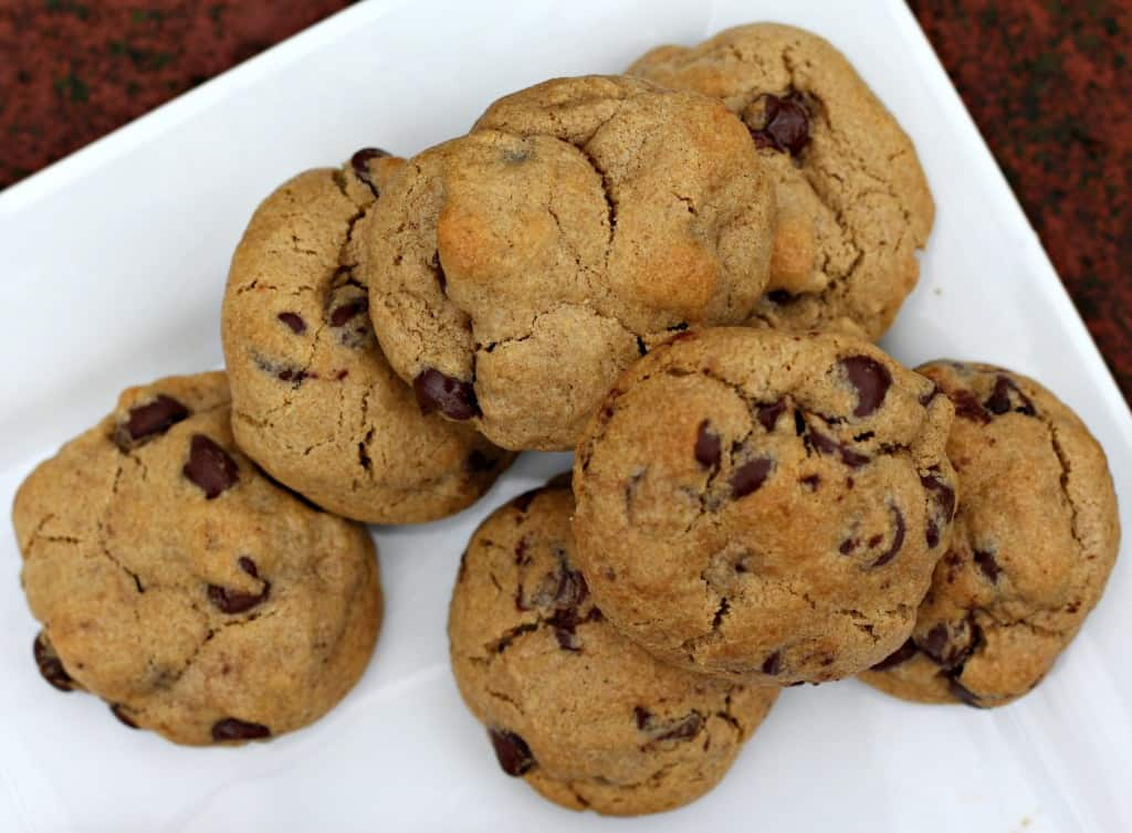 Oat Flour Chocolate Chip Cookies & Apple Cinnamon Oat Cookies 4