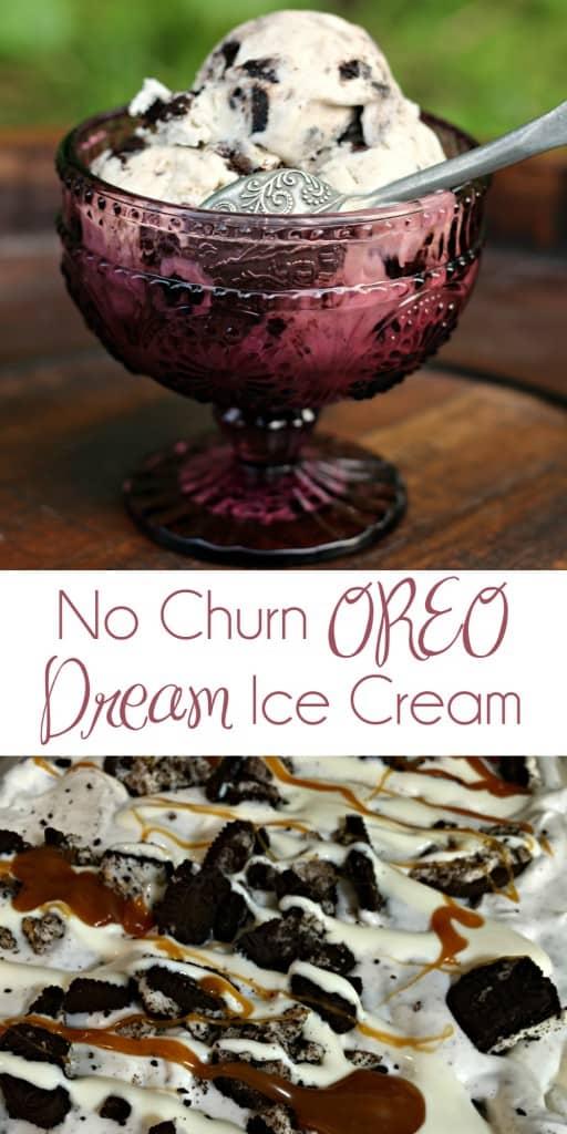 No Churn OREO Dream Ice Cream