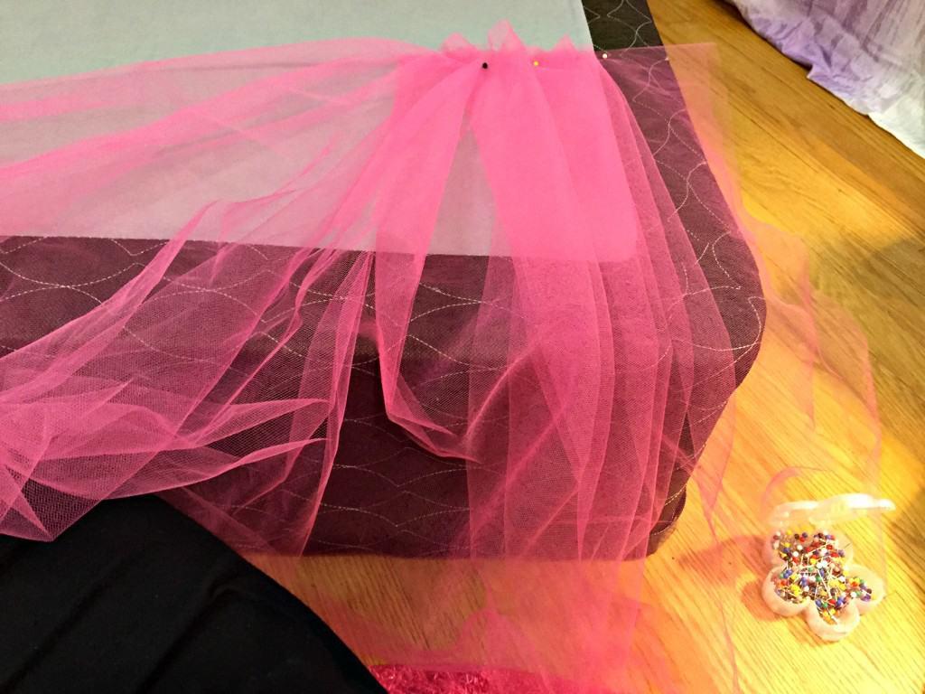 No-Sew Tutu Bed Skirt 1