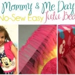 Mommy & Me Day Plus No-Sew Easy Tutu Bed Skirt