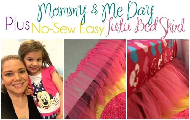 No-Sew Tutu Bed Skirt 10