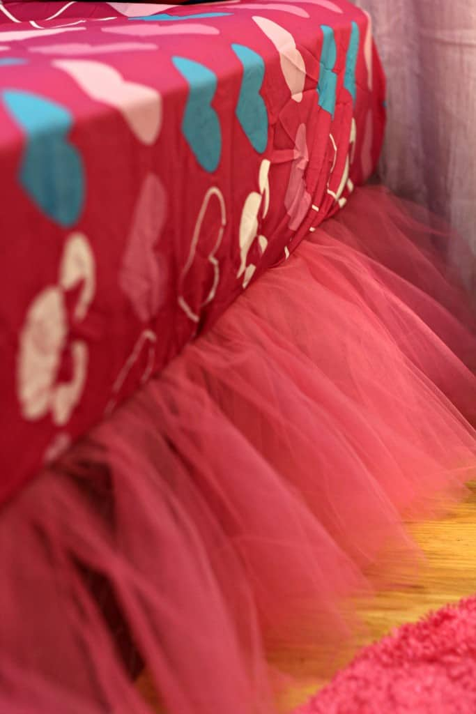 No-Sew Tutu Bed Skirt 4