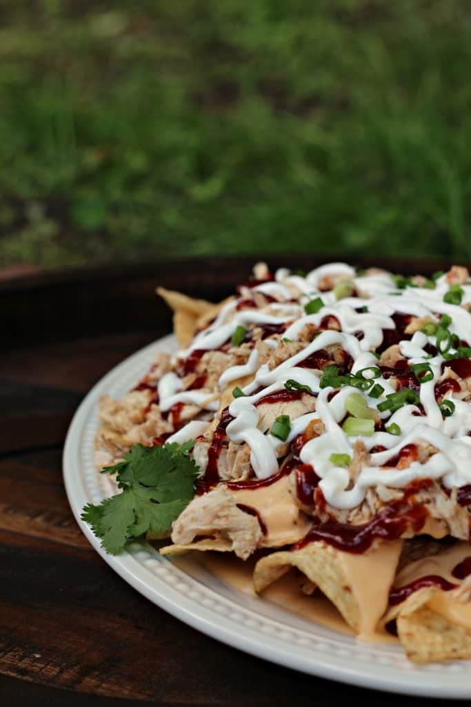 BBQ Pulled Chicken Nachos 9