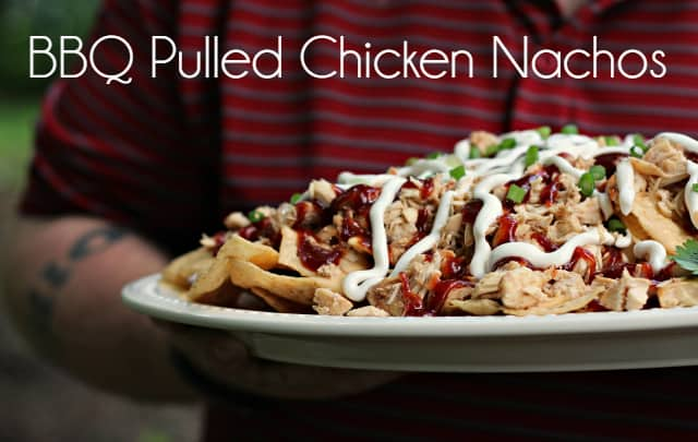 BBQ Pulled Chicken Nachos hero