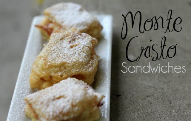 Monte Cristo Sandwiches with Sargento® Slices