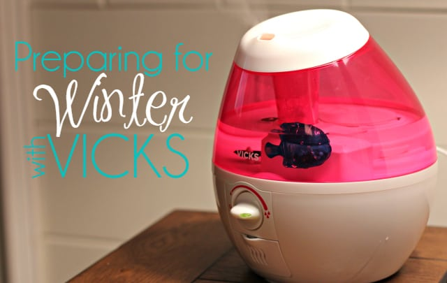 Preparing for Winter with Vicks®- Plus Giveaway!