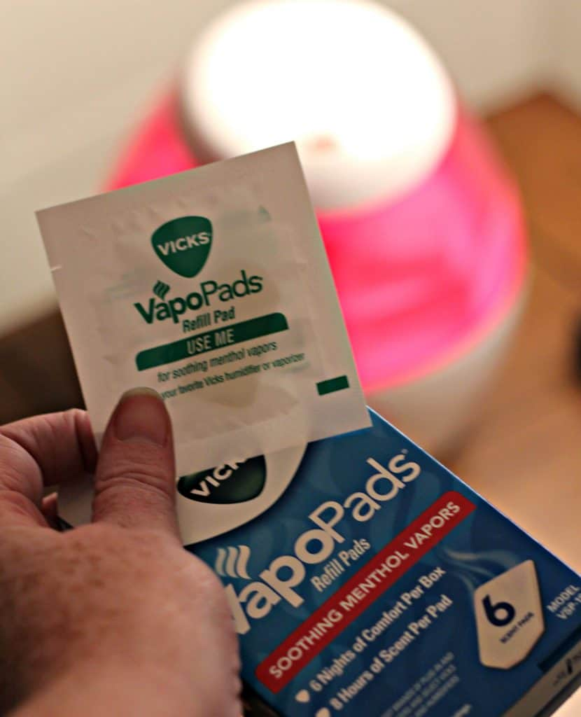 Preparing for winter with vicks plus giveaway all in all for Humidifier cleaning fish