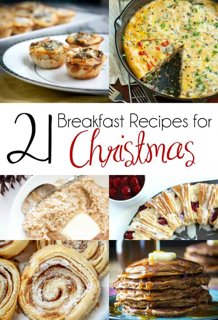 21 Breakfast Recipes for Christmas