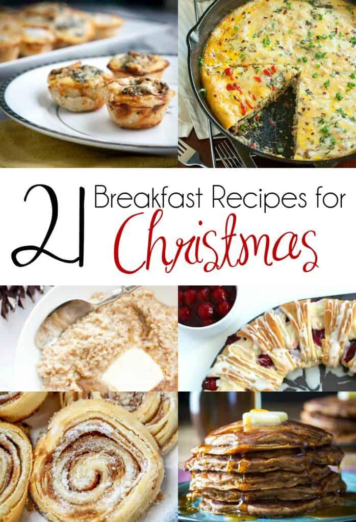 21 Breakfast Recipes for Christmas