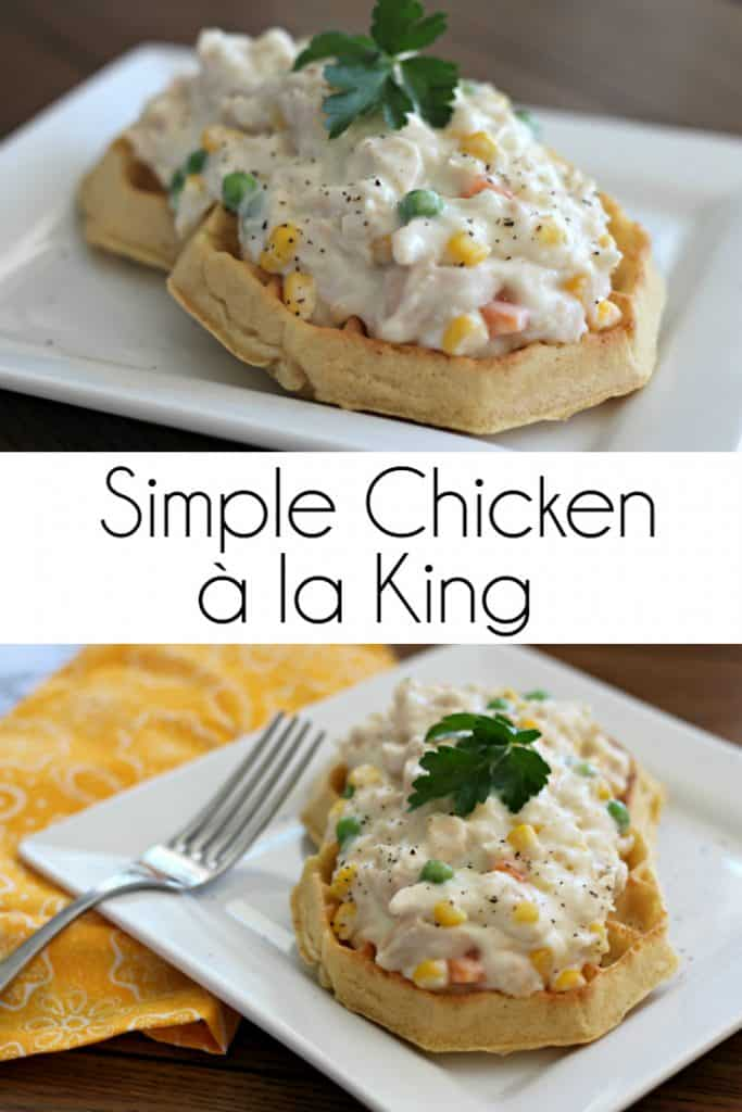 Simple Chicken à la KingRecipe