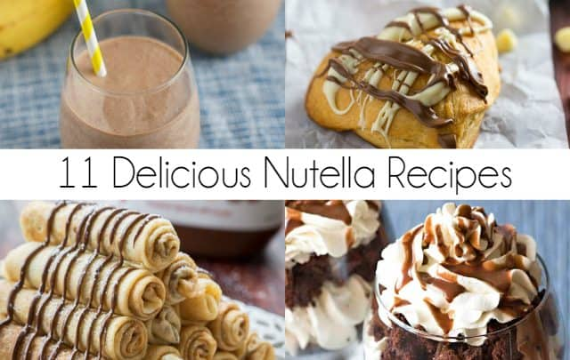 11 Delicious Nutella Recipes