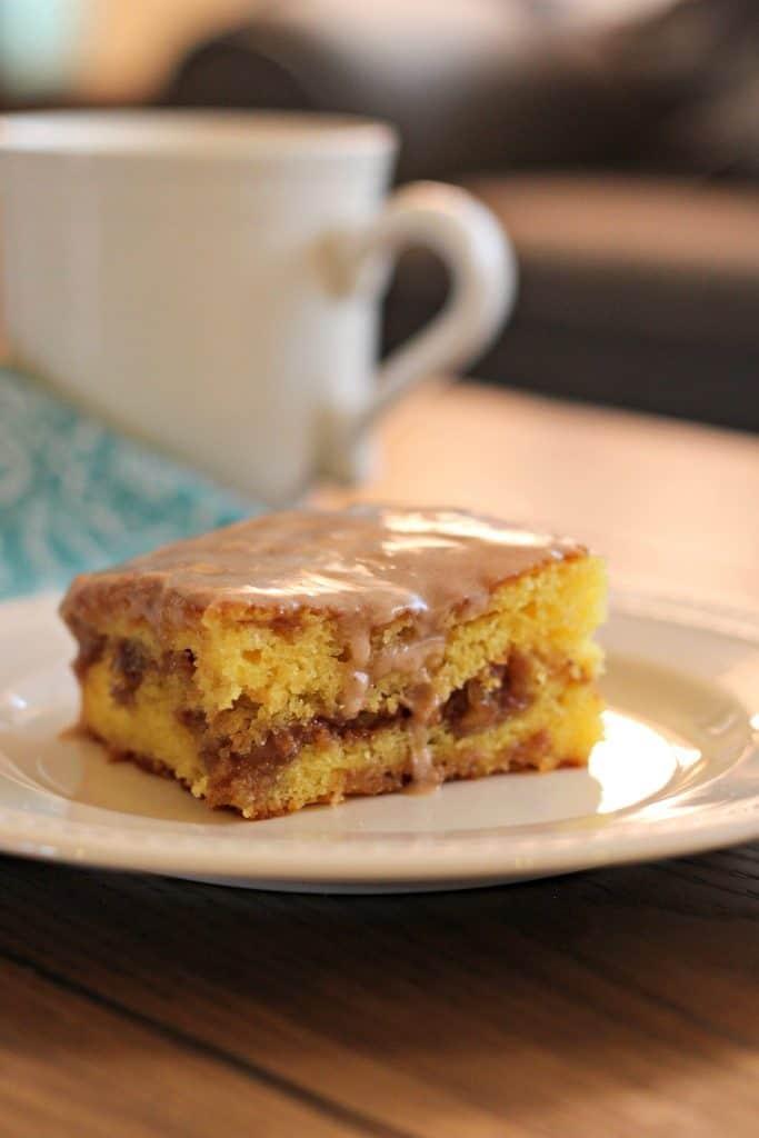 Honey Bun Cake Mom Needs Chocolate
