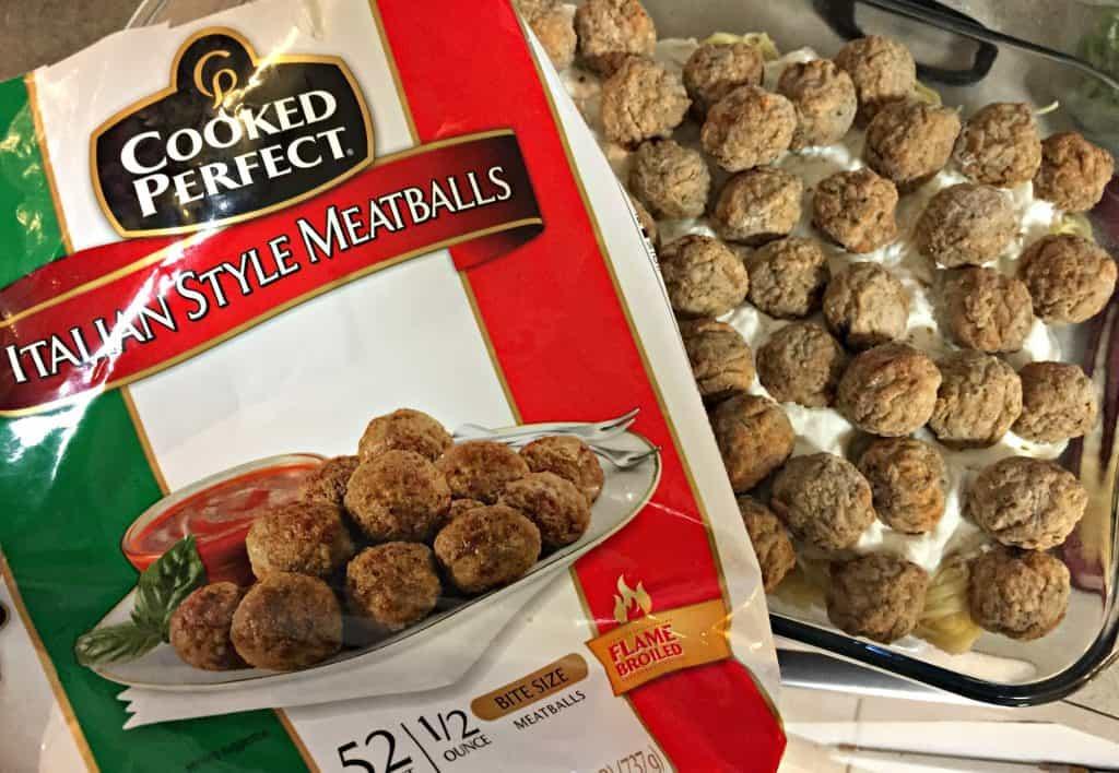 Million Dollar Spaghetti and Meatballs