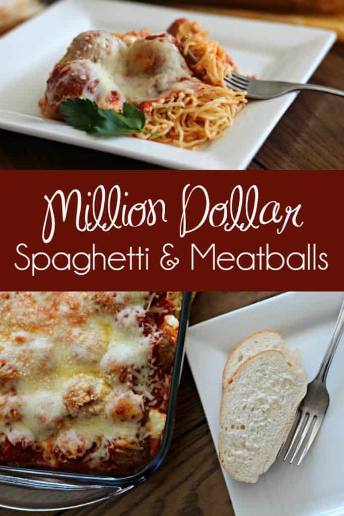 Million Dollar Spaghetti and Meatballs pin