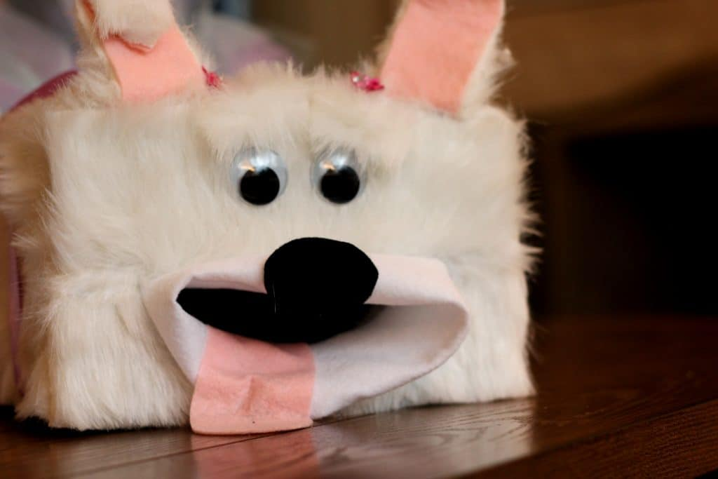 Puppy Valentines Box 13