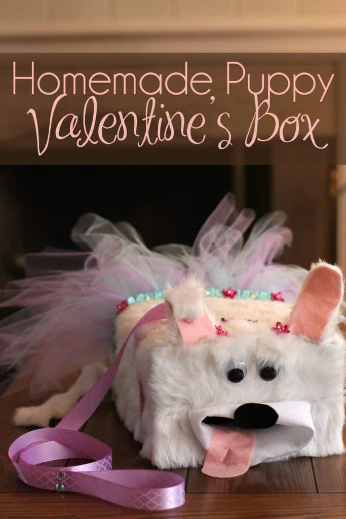 Puppy Valentines Box