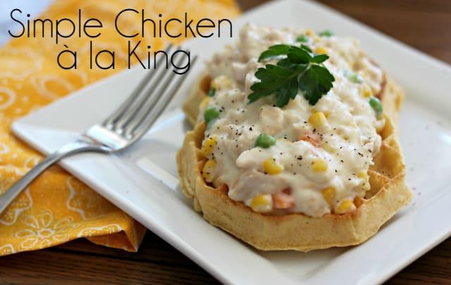 Simple Chicken a la King Recipe