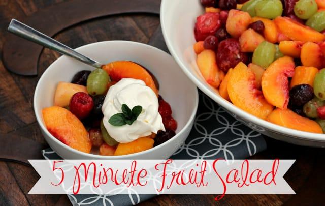 Five Minute Fruit Salad 10