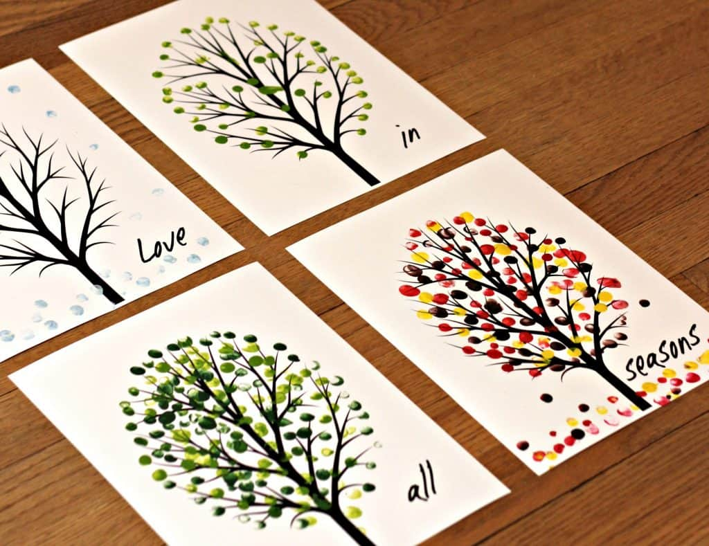 Love in All Seasons – Free Printable Art Project 4