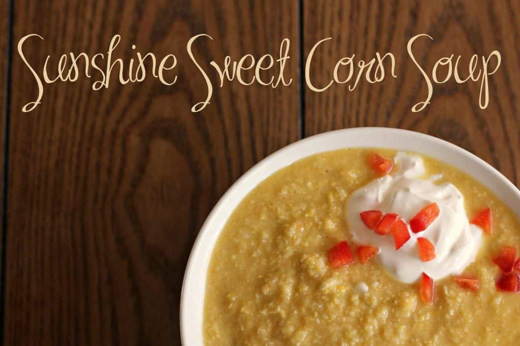 Sunshine Sweet Corn Soup 10