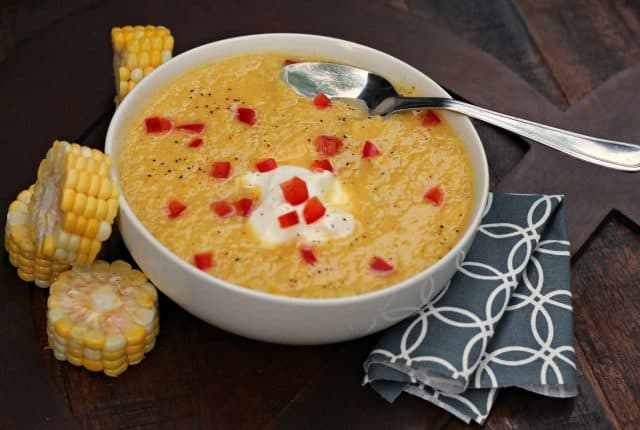 Sunshine Sweet Corn Soup 5