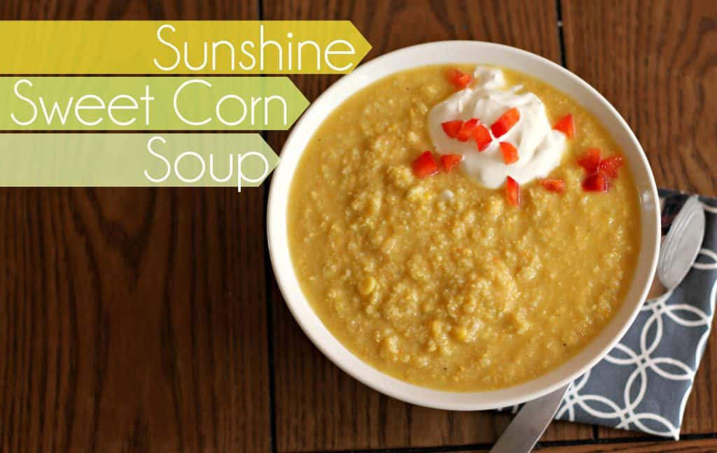 Sunshine Sweet Corn Soup 8