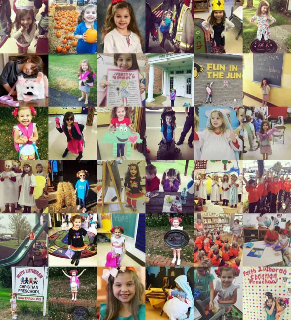 Why I'm Glad I Sent My Child to Preschool collage
