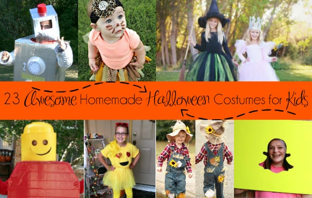 23 Awesome Homemade Halloween Costumes for Kids | Homemade Costumes | Halloween Costumes | Kids Costumes | DIY Costume